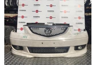 Бампер передний Mazda MPV в сборе, 1999-2003, 330$