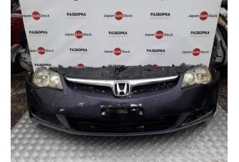 Бампер, фара, панель, радиатор, решётка, ноускат Honda Civic 4D, 2006-2011