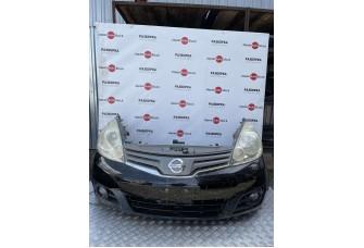 Бампер, фара, панель, радиатор, ноускат Nissan Note, 2008-2013